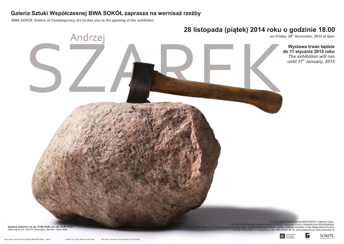 28 listopada-11 grudnia Andrzej Szarek - plakat