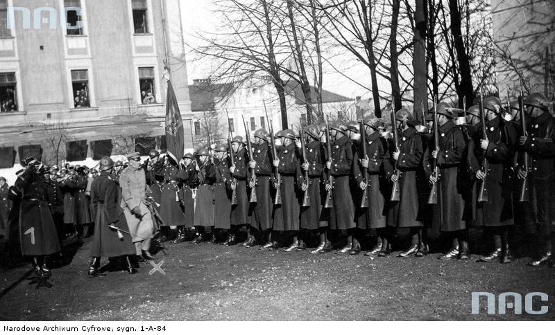 Piłsudski w Nowym Sączu rok 1928