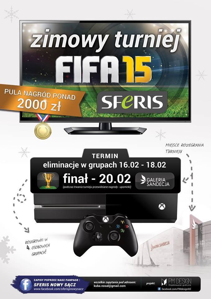 Turniej Fifa 15 Nowy Sącz