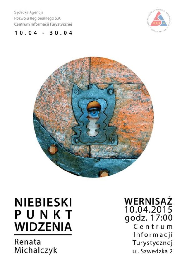 Plakat wystawy Renaty Michalczuk