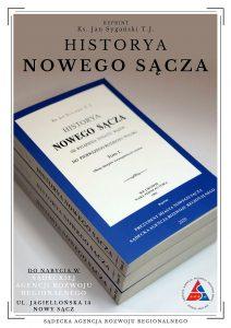 okładka książki Historya Nowego Sącza ks. Jana Sygańskiego